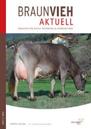 Brown Swiss Management Award 2008 - Braunvieh Austria