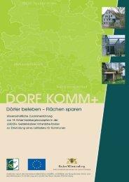 2 DORF KOMM+ - Nachhaltige Entwicklung in Hohenlohe-Tauber
