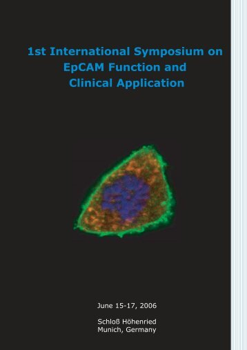 1st International Symposium on EpCAM Function and Clinical ...