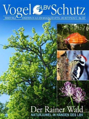 Vogelschutz-Sonderheft Rainer Wald - Der Rainer Wald