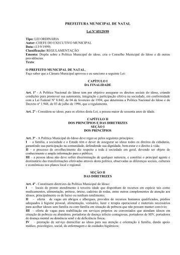 PREFEITURA MUNICIPAL DE NATAL