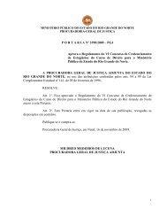 anexo da resolução nº 039/2001 – pgj - ministério público do rn