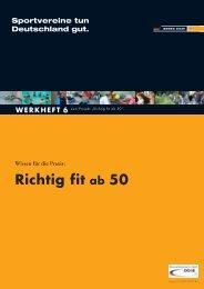 Richtig fit ab 50 - Landessportbund Niedersachsen e.V.