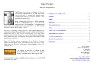 Nigel Morgan - Worklist, August 2015