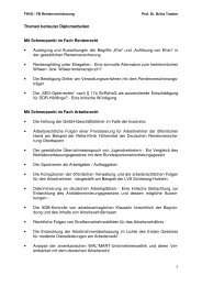 Themen betreuter Diplomarbeiten - Verwaltungsfachhochschule ...