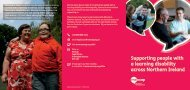 Supporting people with a learning disability across Northern Ireland
