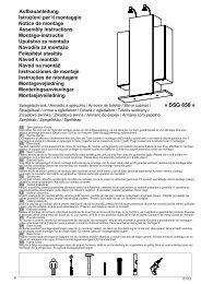Aufbauanleitung lstruzioni per il montaggio Notice de montage ...