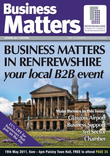 Business Matters - Renfrewshire Chamber of Commerce