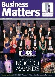 Business Matters Winter 2011 - Renfrewshire Chamber of Commerce
