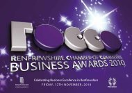 Celebrating Business Excellence in Renfrewshire