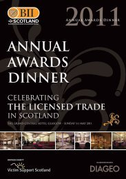 ANNUAL AWARDS DINNER - Renfrewshire Chamber of Commerce