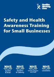 Safety and Health Awareness Training for Small Businesses