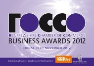 BUSINESS AWARDS 2012