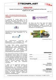 Newsletter 04/09 - Tecniplast Deutschland GmbH