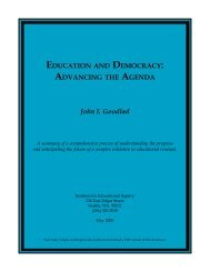 EDUCATION DEMOCRACY ADVANCING AGENDA