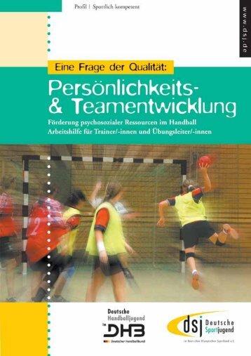 Methodische Gestaltung - Deutsche Sportjugend