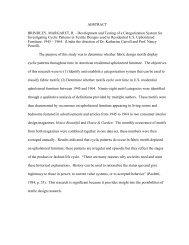 ABSTRACT BRINDLEY, MARGARET, R ... - Digital Repository