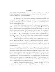 ABSTRACT - Digital Repository - North Carolina State University