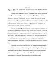 ABSTRACT WRIGHT, BETH ANN. Rural Lesbians - Repository.lib ...