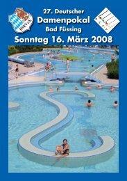 27. Deutscher Damenpokal - DSkV