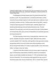 ABSTRACT JOHNSON, BRUCE KARL. Soil characterization and ...