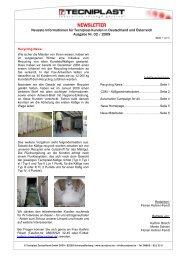 Newsletter 02/09 - Tecniplast Deutschland GmbH