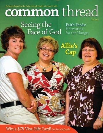 Seeing the Face of God, Faith Feeds