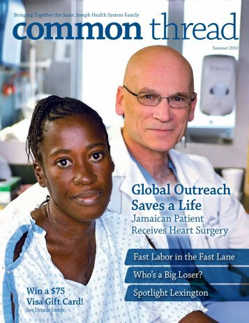 Global Outreach Saves a Life