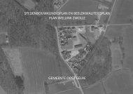 Bijlage 9 Beeldkwaliteitsplan Zwolle - Ruimtelijke plannen Oost Gelre