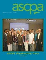 ASCPA Membership Issue
