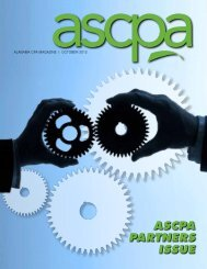ASCPA Partners Issue
