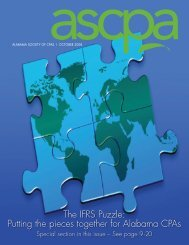 Putting the pieces together for Alabama CPAs