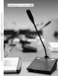 Jahresbericht Annual Report 2008 - DRSC