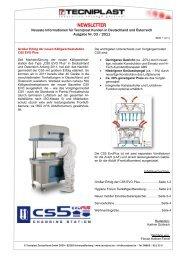 Newsletter 03/11 - Tecniplast Deutschland GmbH