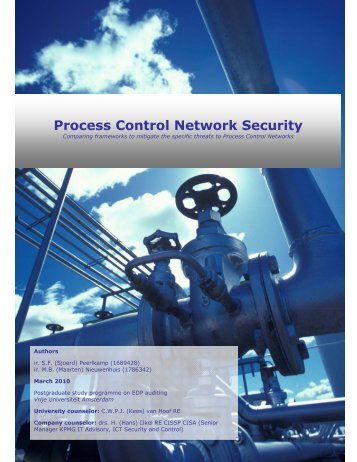 Process Control Network Security