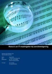 Risico's en IT-maatregelen bij sanctiewetgeving