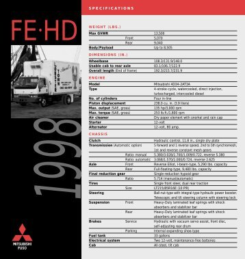 FE-HD - Mitsubishi Fuso