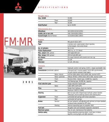 FM•MR - Mitsubishi Fuso