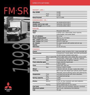 FM-SR - Mitsubishi Fuso