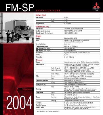 FM-SP - Mitsubishi Fuso