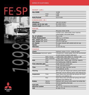 FE-SP - Mitsubishi Fuso