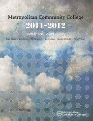 Metropolitan Community College course catalog