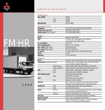 FM•HR - Mitsubishi Fuso