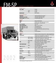 2002 FM-SP - Mitsubishi Fuso