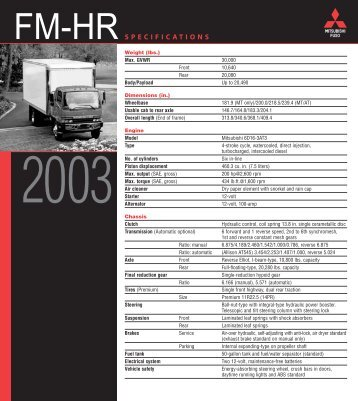 FM-HR - Mitsubishi Fuso