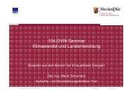 104.DVW-Seminar Klimawandel und Landentwicklung