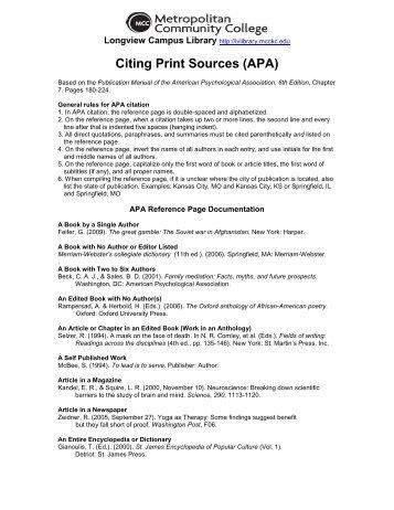 citing a pdf document apa