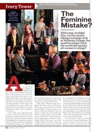 The Feminine Mistake?