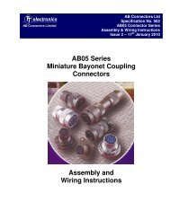 Specification 562 issue 2 - AB Connectors Ltd.