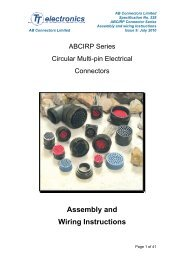 AB spec 528 issue 9 Assembly instructions - AB Connectors Ltd.